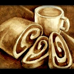Picture coffee (written coffee)
