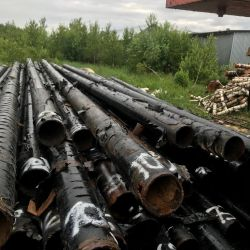 Used pipe for sale with a diameter of 219x9