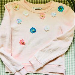 Ανοιχτό ροζ μπουφάν και φούστα Μαντέψτε 110