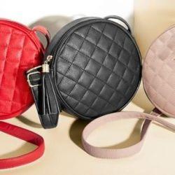 Handbag over the shoulder