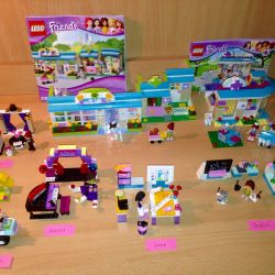 Lego Friends Лего 3935 Стефани на квадроцикле