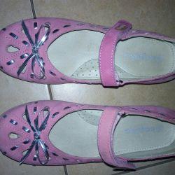 Τα παπούτσια του Kapik γνήσιο δέρμα