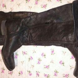 Esprit boots genuine leather