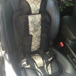 Baby frameless car seat