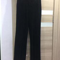 Pants velvet new