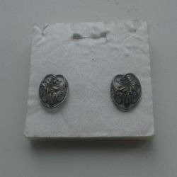 Earrings (nickel silver)