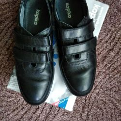 Χαμηλή παπούτσια εφήβων Kapika 38r