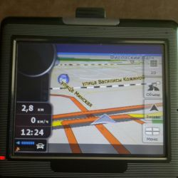 Navigator for car or motorcycle