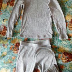 Thermal underwear134-140uni