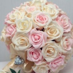 Bouquet-doubler, brooch-bouquet