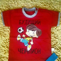 футболочки новые на мальчика