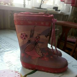 Rubber warm boots