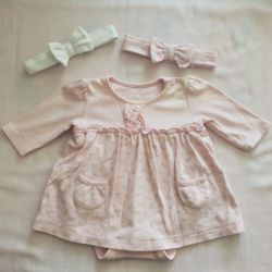 Rochie și accesorii Mothercare 0-3 мес.