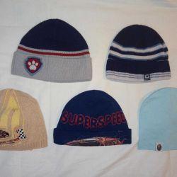Caps for a boy (EG 38-40 / 46-48 / 52-54 cm) spring
