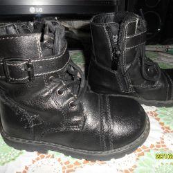 Children's kersey half boots (light) р.24
