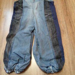 semi-overalls denim