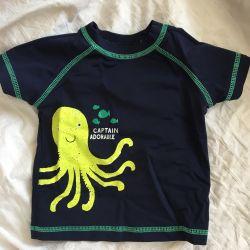 Κολύμβηση σορτς T-shirt