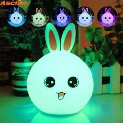 Lamp, night light children's Bunny