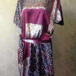 Новое шелковое платье