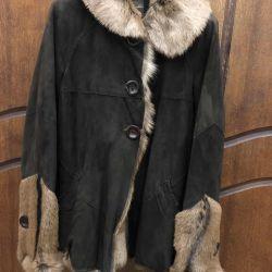 Bayan koyun derisi ceket