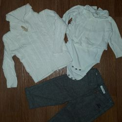 Set of branded items for 74-80 sizes