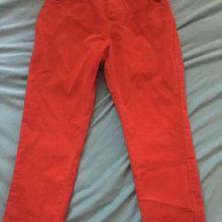 Corduroy children's jeans 92 growth