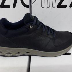Ecco Sneakers Φυσικό nubuck