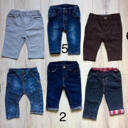 Jeans trousers for the boy size 68