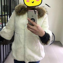 παλτό γούνας κάστορας