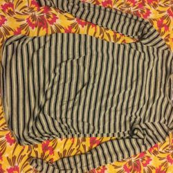 Blouse for future mother + jeans
