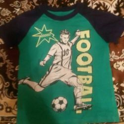 T-shirt football on the rise of 110