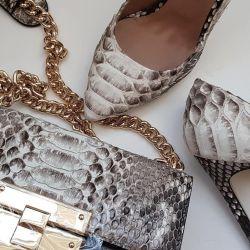Python deri ayakkabı orijinal