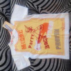 Νέο μπλουζάκι για ένα αγόρι