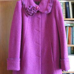 Spectacular fuchsia coat