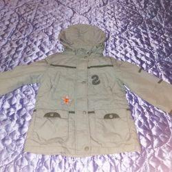 Куртка для девочки, рост 110-116.