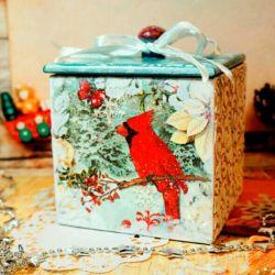 Box kitchen gifts new year tea coffee