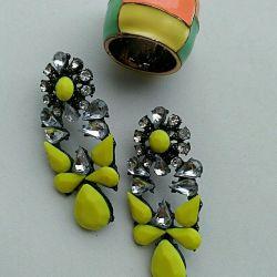NEW earrings + ring