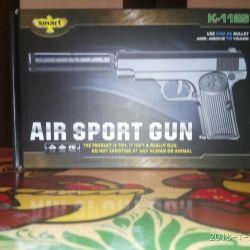 Metal arma pentru copii cu un zgomot