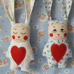 Bunny with long ears