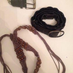 Belts belts vintage adults and children