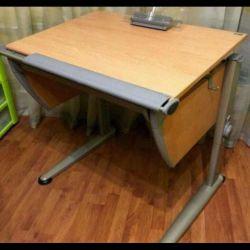 Școală birou Moll + scaun Moll