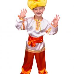 Children's carnival costume Kolobok