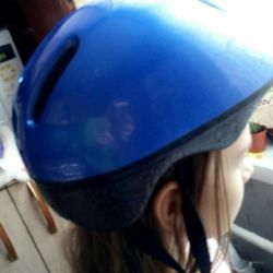 Helmet for protection on the child of 6-8 years