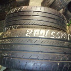a pair of tires 215 55 to 17 Maxis