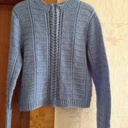 Cardigan women's 48-50 / XL hand-knitted new