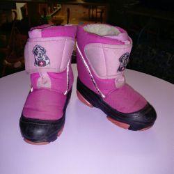 Зимние ботинки, в хорошем состоянии