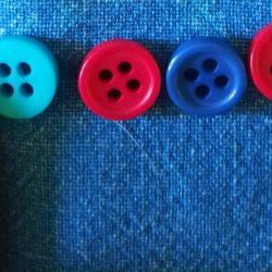 Scrapbooking düğmeleri!