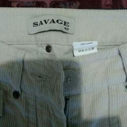 Breeches, kadife. Firma Savage.