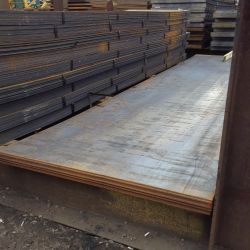 Smooth steel sheet