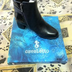 Boots, 37r leather, not used